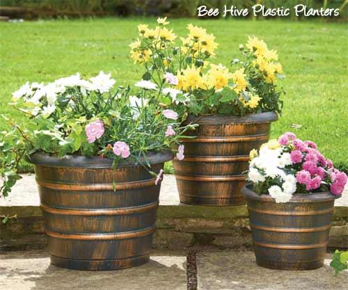 bee-hive-planters