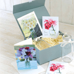 Cut flower seed & bottle gift set