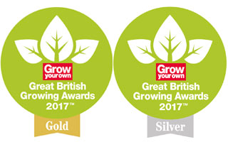 T&M sweeps board at Grow Your Own Great British Growing Awards