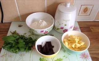 From Rake To Bake –  Mint 'n' Chocolate Biscuits