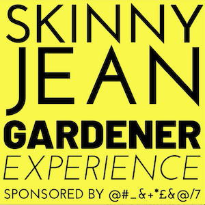 new logo of Skinny Jean Gardener