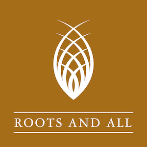 Logo of Roots and All podcast
