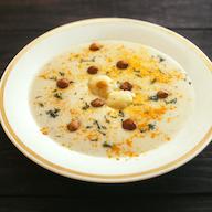 Stock image of a hazelnut soup