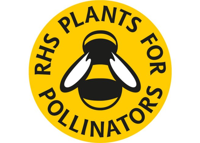 RHS Plants for Pollinators logo