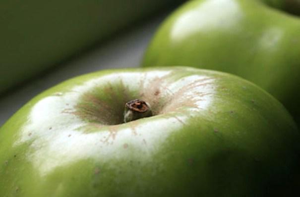 Bramley Apple closeup