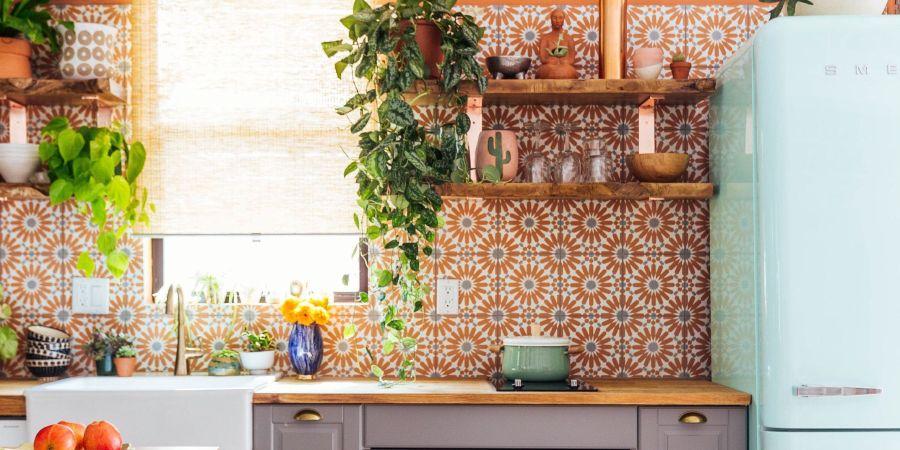 cozinha colorida ideias