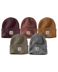 Carhartt beanies from Those Plant Ladies -- comes in a variety of colors; includes Carhartt logo only.