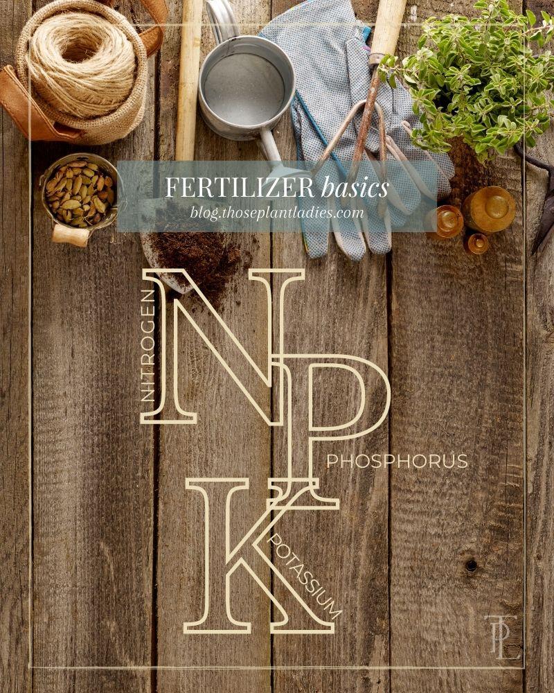 Fertilizer 101: NPK
