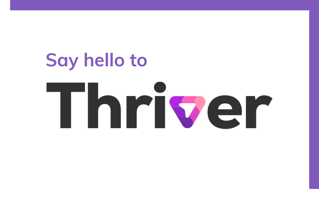 Platterz is now Thriver!
