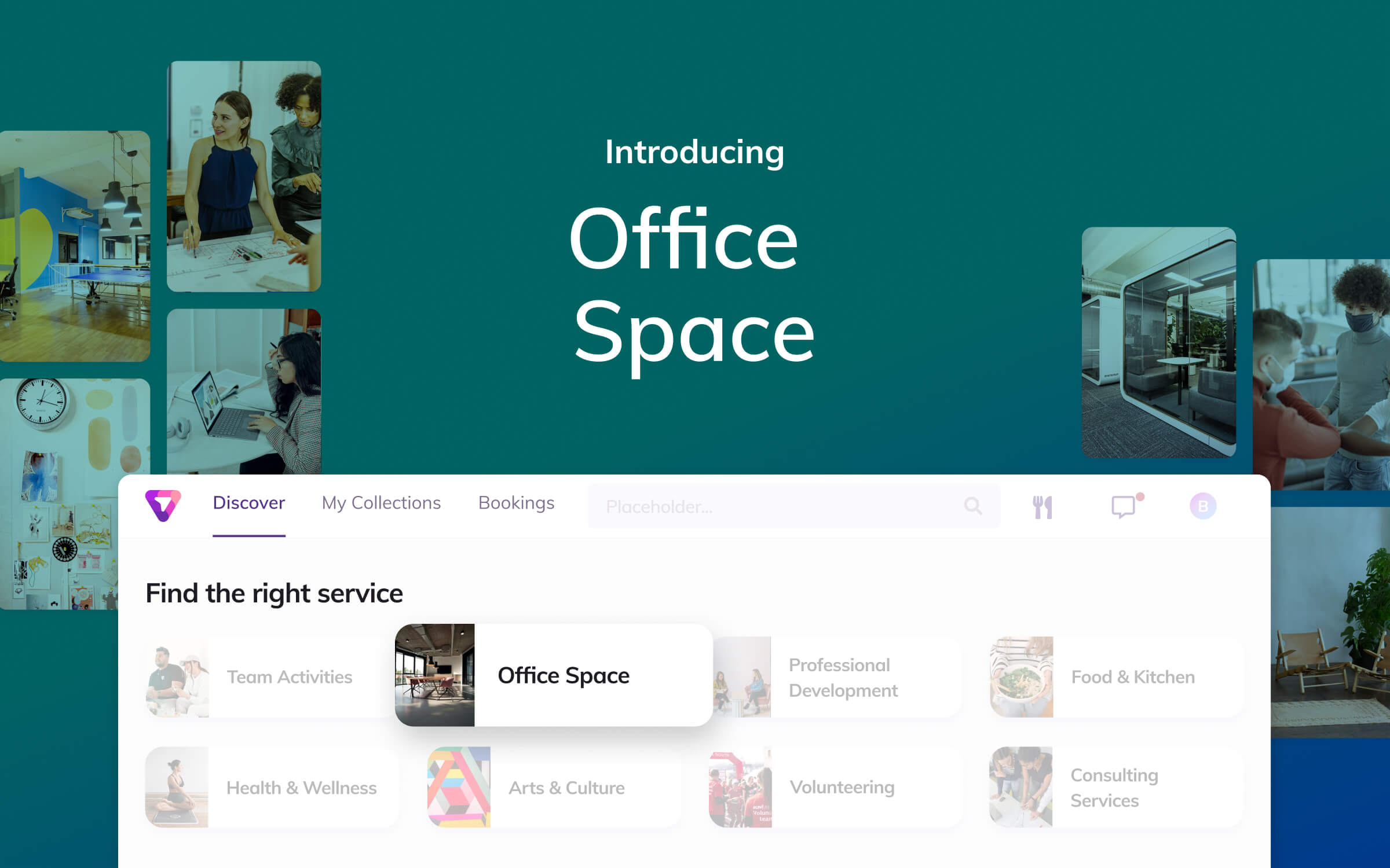 a breakdown of how to build a program around office space