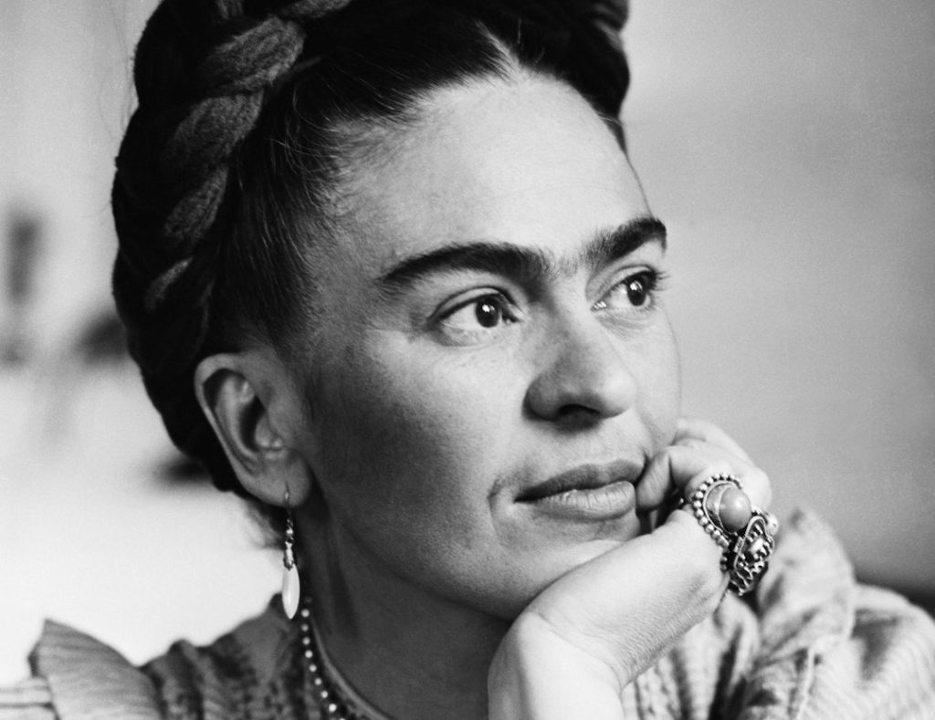 Image depicts Frida Kahlo - Mexican painter