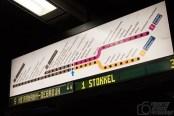 Metro-Anzeige