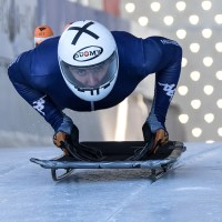 Skeleton-Training zum IBSF Weltcup in Winterberg