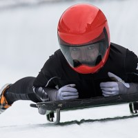 Skeletontraining zur Junioren-WM 2020 in Winterberg