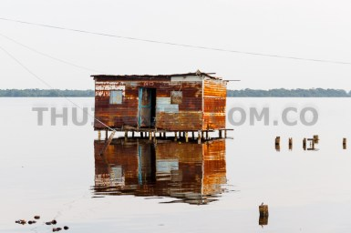 A lonely house in Congo