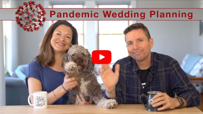 YouTube video on event planning during a pandemic