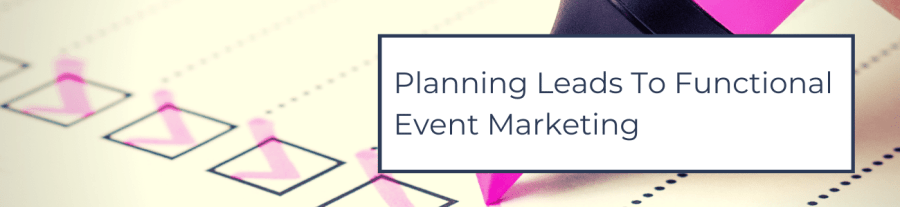 Planning Leads To Functional Events