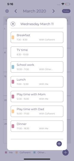 Parent Scheduler Example