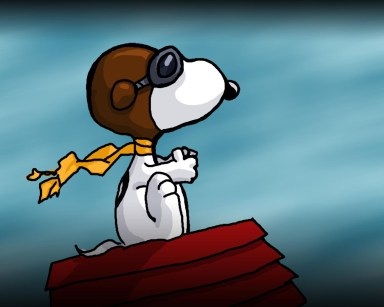 Snoopy will serve as the representation of Azmi, my pilot in KL