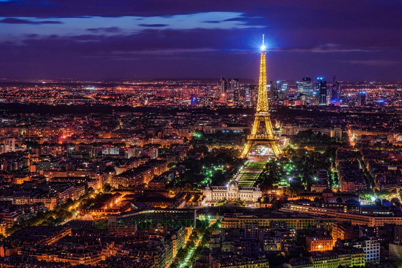 Paris Cityscape (Post-Processed in 2018)