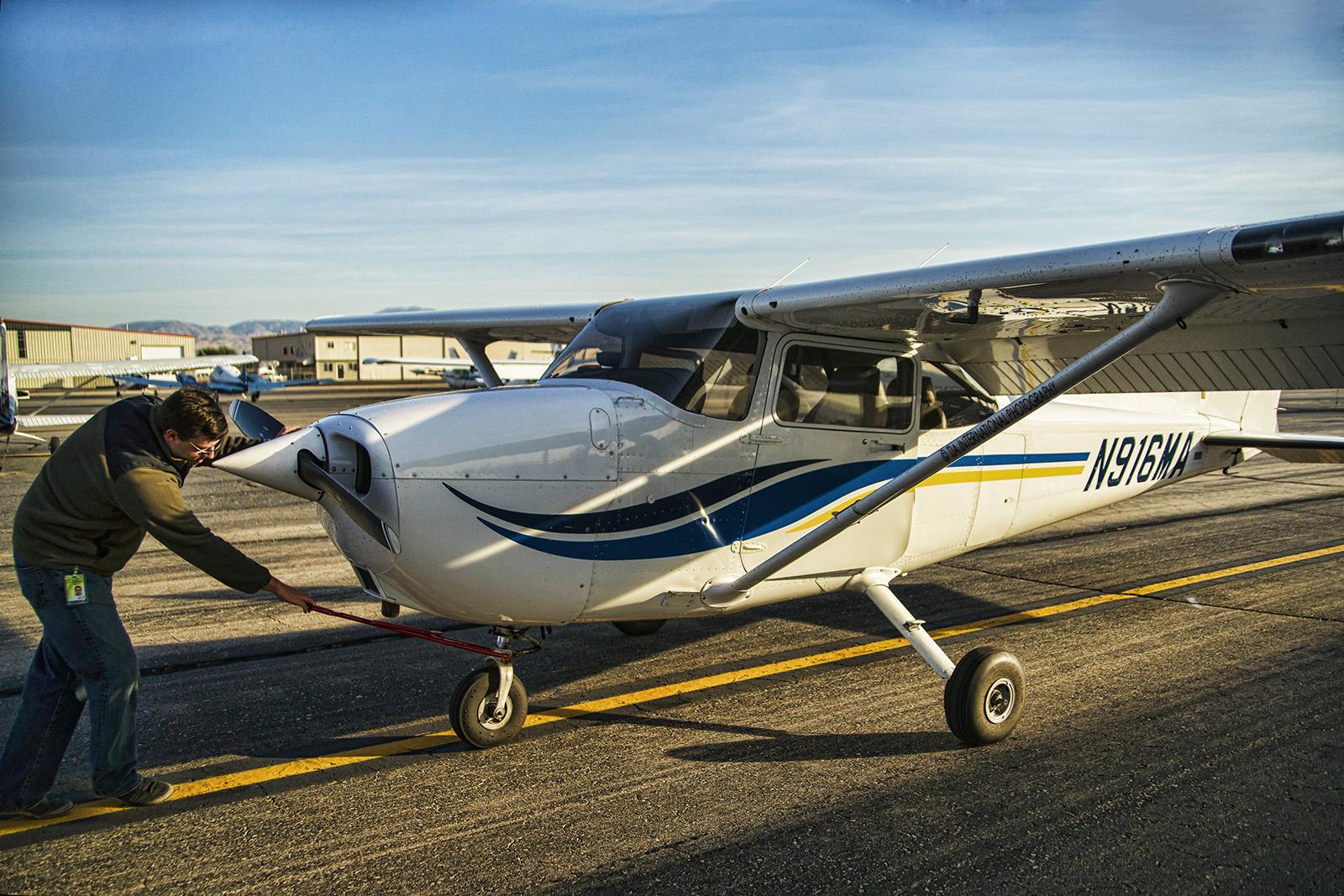 Small aircraft, Boise, Idaho.