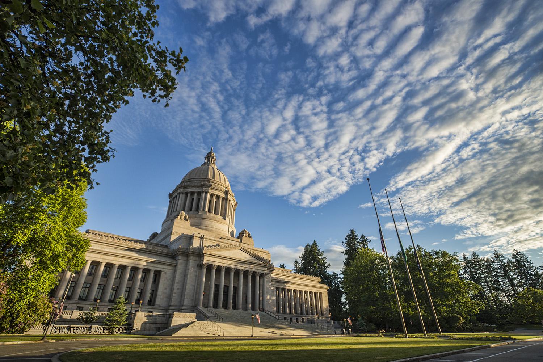 Washington State Capitol, Olympia, Washington.