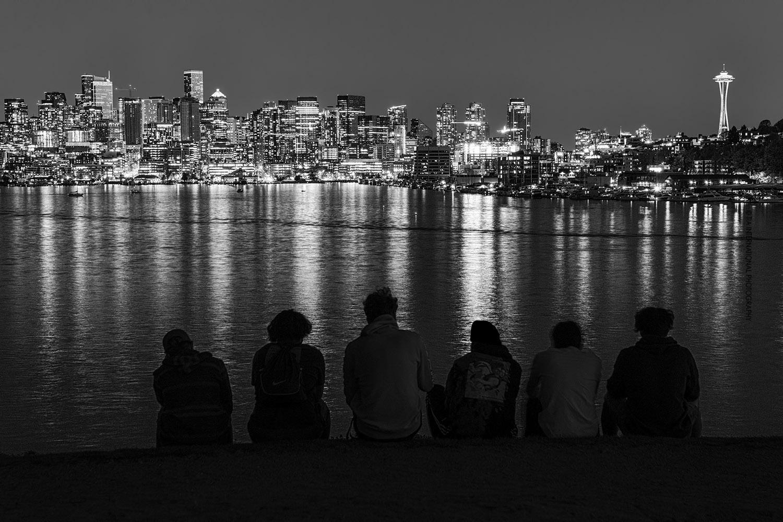 """""""The Seattle Six"""" (Monochrome) / Gas Works Park / April 18, 2021"""