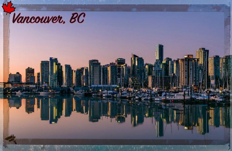 Vancouver / Postmarked 11 Nov. 2012
