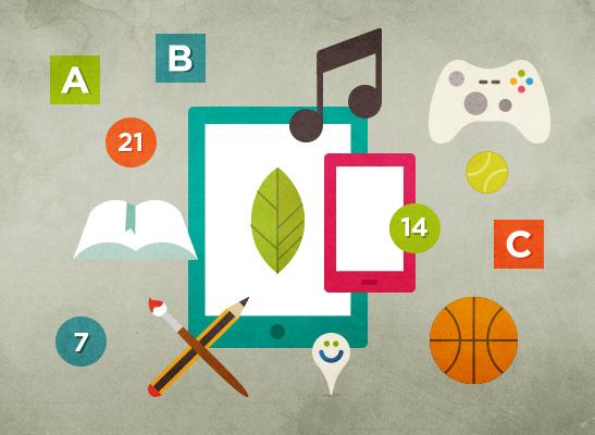 aprende con aplicaciones educativas en vacaciones