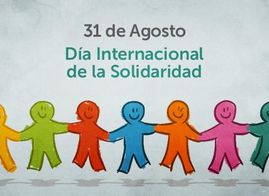 Resultado de imagen de día internacional de la solidaridad