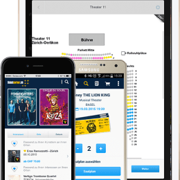 Ticketcorner App für iPhone, iPad & Android
