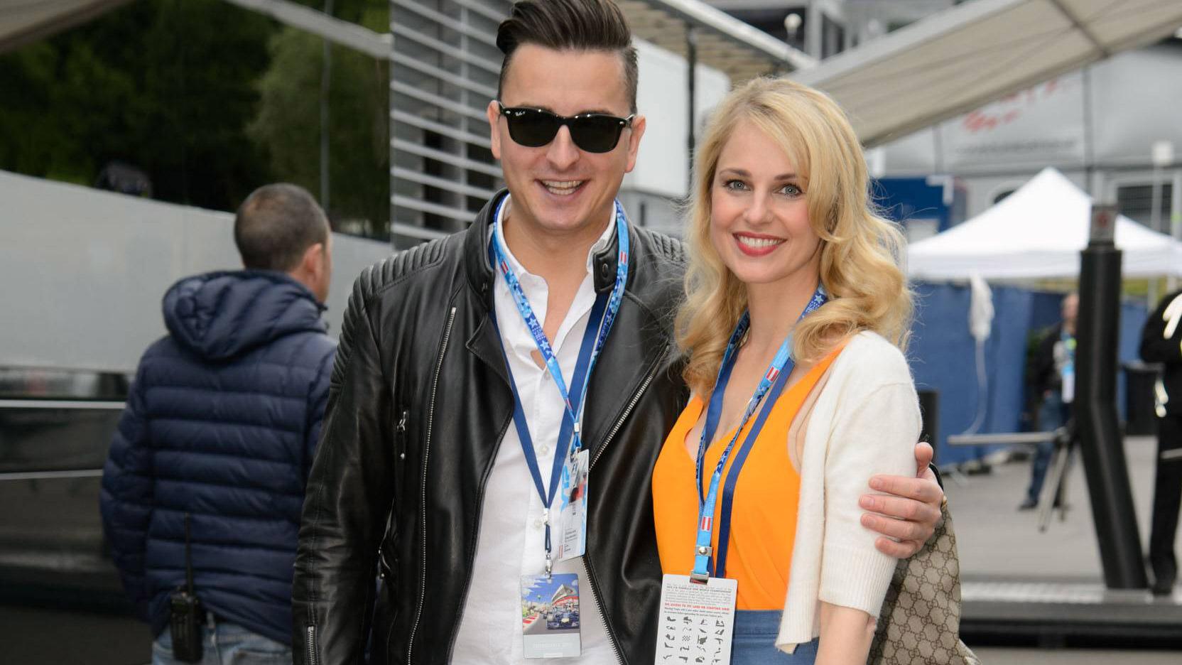 Andreas Gabalier & Silvia Schneider