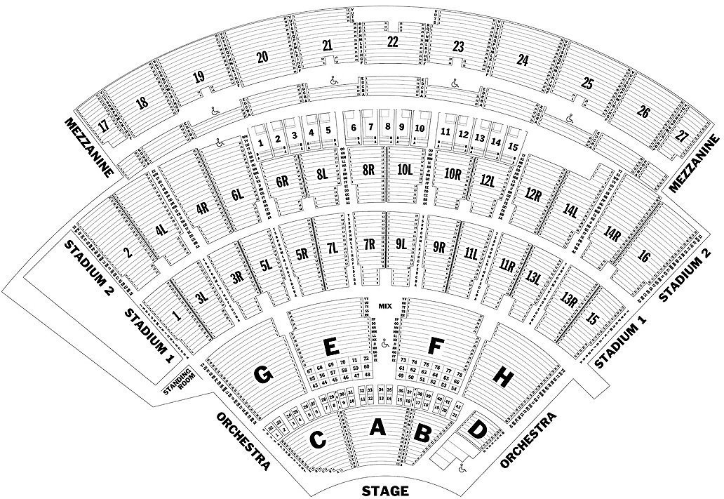 Sight And Sound Seating Chart View