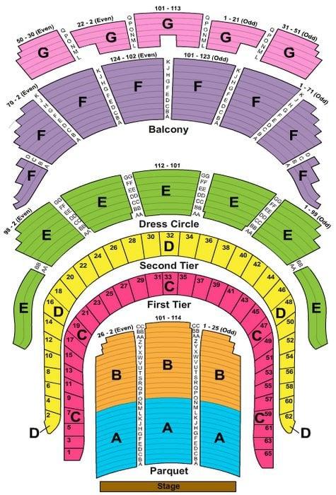 Carnegie Hall Seating Chart View Brokeasshomecom