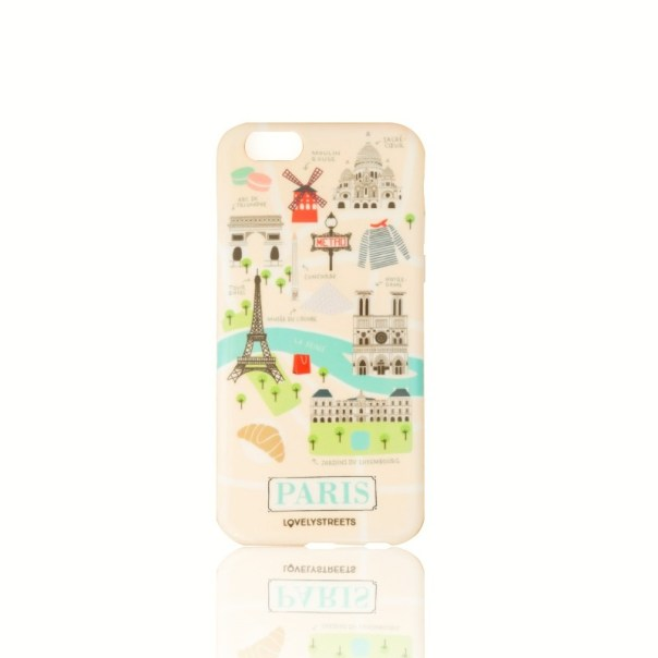 accesorios Carcasa Viajera Iphone 6/6S Paris Lovely Streets