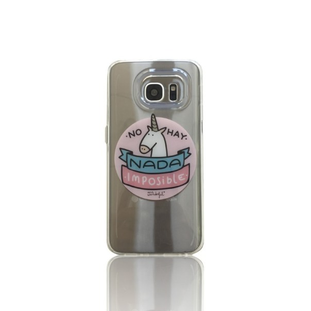 "accesorios Carcasa TPU Sams S7 Edge ""Unicornio"" Mr Wonderful"