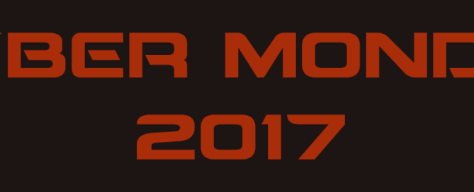 Más Ofertas Black Friday 2017 en el Cyber Monday 2017