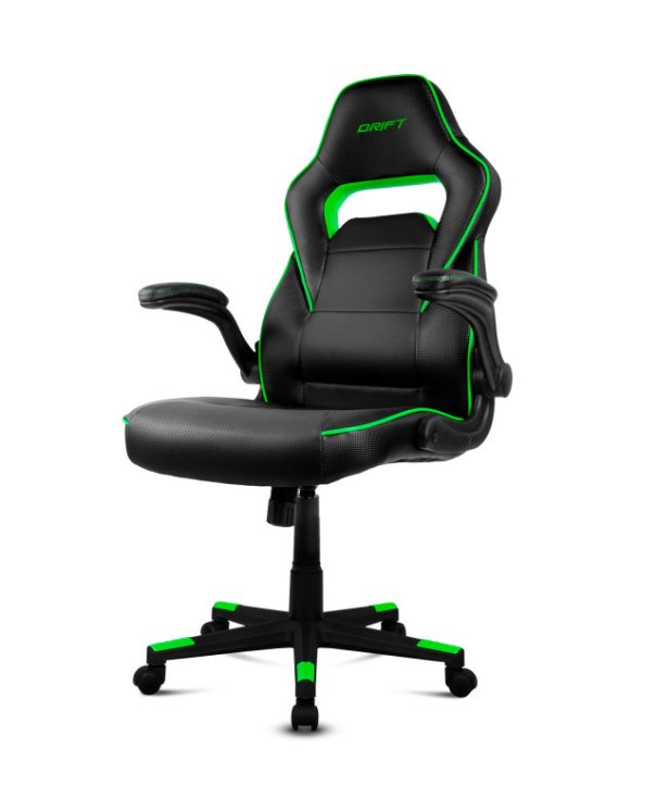 SILLA GAMING DIFT DR75 NEGRO/VERDE 118,23 €
