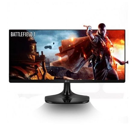 "MONITOR LED LG 25UM58-P, 25"" ULTRAWIDE 2560x1080 PANORAMICO, 21:9, 250CD/M2, 5MS, 2X HDMI, OPTIMIZADO PARA JUEGOS, NEGRO 143.24€"
