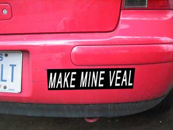 Make Mine Veal