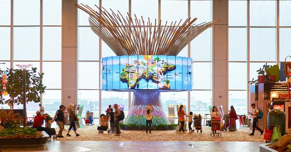 Changi Airport Fasilitas Gratis - The Social Tree