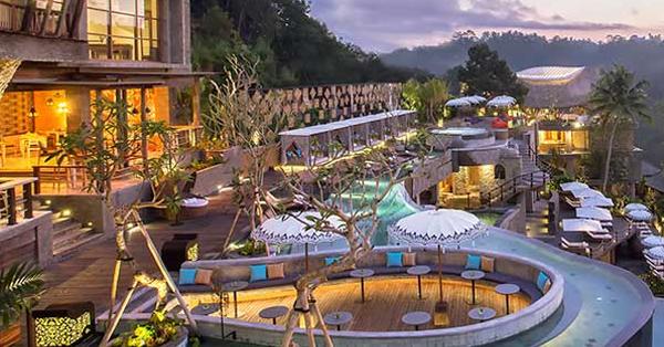 Destinasi Instagramable di Bali - Wanna Jungle Pool & Bar