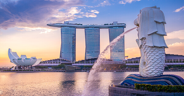 Itinerary Singapore - Singapore Landmark