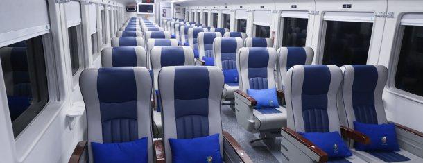 Jenis Kelas dan Sub Kelas Kereta Api - Gerbong Kereta Api Kelas Bisnis