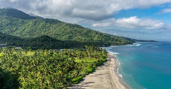 Pantai di Lombok - Pantai Senggigi