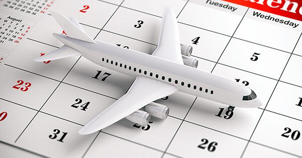 Strategi Mencari Tiket Pesawat Murah - strategi pemilihan tanggal