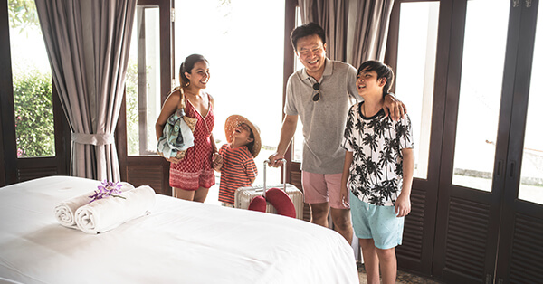 Tips Liburan Keluarga - Tidur Dimana Saja
