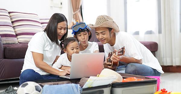 Tips Liburan Keluarga - bebaskan pada keluarga