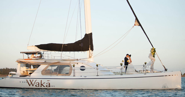 Venue Wedding di Bali Terindah - WakaSailing Catamaran