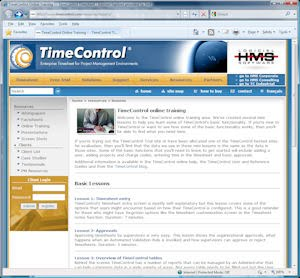 All-new TimeControl Online Training Center
